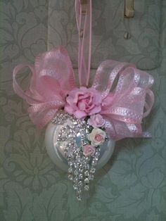 Pink Tree ornament