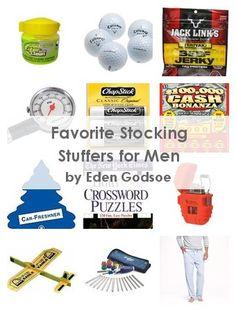 Favorite Stocking Stuffers for Men