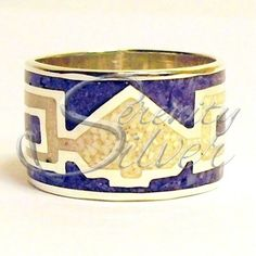 SerenitySilver.com ~ Hand Made Sterling Silver Wampum Quahog Jewelry Pieces by Vince Gant