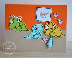 Good Tri by teristampsalot - Cards and Paper Crafts at Splitcoaststampers