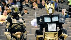 New Orleans Saints fans are bananas!