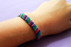 wikiHow to Make a Friendship Bracelet -- via wikiHow.com  so going to make this!