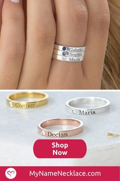 Floral Moissanite Engagement Ring Set White Gold Ring with Matching Band Moissanite Engagement Rings - Fine Jewelry Ideas Mom Jewelry, Jewelery, Personalized Jewelry, Handmade Jewelry, Cleaning Silver Jewelry, Silver Jewellery Indian, Name Rings, Mother Rings, Bijoux Diy