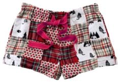 Natural Reflections® Patchwork Flannel Boxer Shorts for Ladies | Bass Pro Shops $17.99
