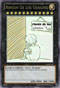 Rincon De Los Odiados- carta de marginamiento lvl 20000000 alv :'v
