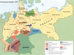 The German Empire consisted of 27 constituent states, most of them ruled by…