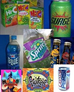 drinks from the 90s