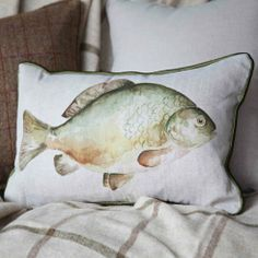 Mr Carp C120377 fish cushion from Voyage Maison cushion