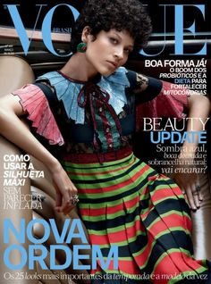 Ari Westphal by Paulo Vainer for Vogue Brazil March 2016 cover - Gucci  Spring 2016 bc04b731f2