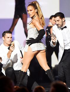 Jennifer Lopez performs onstage at Fashion Rocks 2014 at the Barclays center on September 9, 2014 in New York.