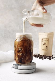 An easy cold brew gif to see how its done