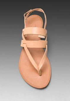 JOIE Positano Sandal in Natural/Natural -