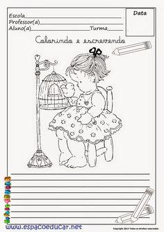 30 Atividades para redação ou criação de texto inéditas grátis para você imprimir! ~ ESPAÇO EDUCAR