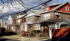 Houses in Bayside, Queens.