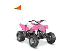 New 2016 Polaris Outlaw 50 ATVs For Sale in Missouri. 2016 Polaris Outlaw 50, 2016 POLARIS® OUTLAW® 50 PINK POWERYouth FeaturesStandard Safety FeaturesIncludes 1 youth helmet, daytime running lights, and a safety whip flag as standard equipment.