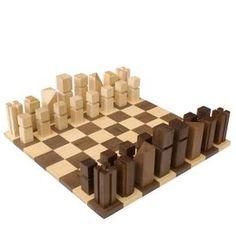 ajedrez moderno madera enpieza
