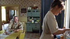 "I love the kitchen in the movie ""Bridges of Madison County"" - love the layout of room coming from it - pantry, mudroom, dining room, etc"