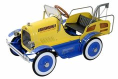 Antique Pedal Car~ Tow-Truck (restored)