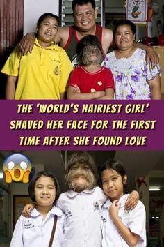 #World's #Hairiest #Girl #Shaved #Face #Love