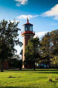 #Leuchtturm #Staberhuk auf #Fehmarn, #Ostsee, #Germany