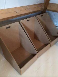 Nice storage boxes.