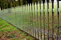 Alyson Shotz - Mirror Fence (2003) by Rodger Coleman, via Flickr