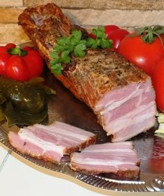 Pork Recipes, Cooking Recipes, Cold Cuts, Kielbasa, Polish Recipes, Smoking Meat, Charcuterie, Food Photo, Sausage