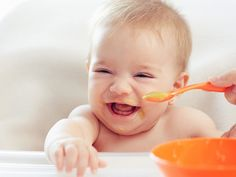 Sometimes the hardest part about finding organic baby food is knowing where to start! We're here to help with a guide for making & buying organic baby food. Baby Led Weaning, Baby Cereal Pancakes, Best Organic Baby Food, Legume Bio, Baby First Foods, Baby Foods, Gerber Baby, Baby Eating, Baby In Pumpkin