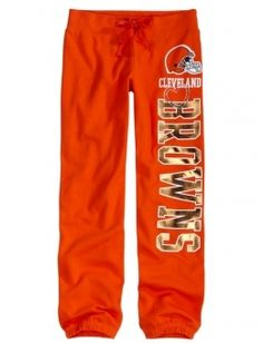 Cleveland Brown Cleveland Browns Fleece Cuff Sweatpant Cleveland Brown jerseys