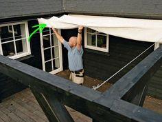 Ett altantak ger lä, värme och skydd mot regn. Du får tre förslag på altantak som du själv kan bygga: Det snabba, utmaningen och det riktigt ambitiösa!
