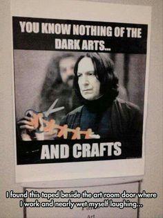 Not mine but Snape as an art teacher sounds magical.