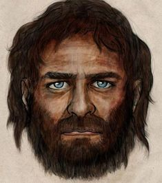 Artist's impression of a blue-eyed hunter gatherer (Credit: PELOPANTON / CSIC) Read more: http://www.ancient-origins.net/news-evolution-human-origins/white-skin-developed-europe-only-recently-8000-years-020287#ixzz3b9G8paMp Follow us: @ancientorigins on Twitter | ancientoriginsweb on Facebook