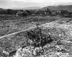 Hiroshima with its almost famous destroyed chapel, now a rebuilt memorial to all the blast and radiation victims.