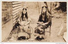 RP: Cherokee Indian Basket Makers , North Carolina , 30-40s Item number: 289908043 SCVIEW - Delcampe.com