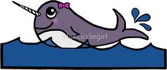 Baby Girl Narwhal