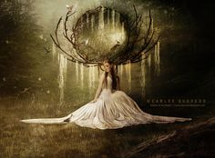 Goddess of the Woods by Carlos-Quevedo.deviantart.com on @deviantART