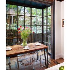 Full length glass walls... drool
