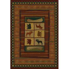 "United Weavers of America Genesis Hearthstone Lodge Area Rug Rug Size: Runner 1'11"" x 7'4"""