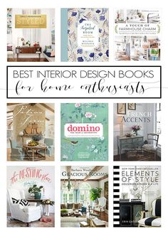 The Best Interior Design Books (Amazon Finds
