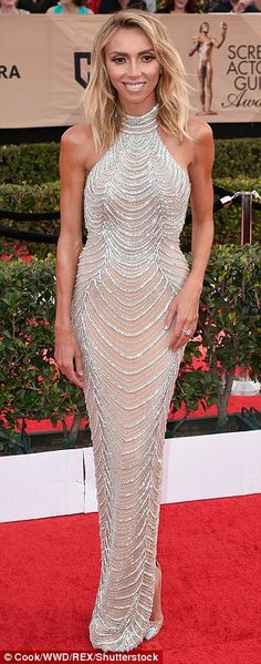 476f3a0752 Look chic in a high-neck dress by Yousef Aljasmi like Giuliana Rancic Click