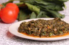 Mâncare de spanac cu leurdă