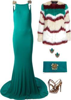 Cavalli  Fitted Maxi Dress
