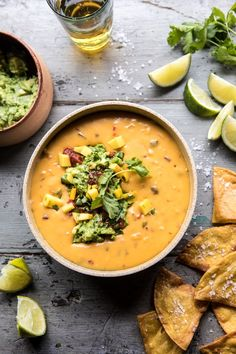 The Best Jalapeno Queso | halfbakedharvest.com #Mexican #cheese #cincodemayo