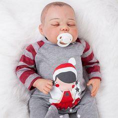 Bebê Reborn feito em vinil com corpinho em tecido e com as veias realistas Laura Reborn Richard chegou para revolucionar.