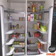 Colonne de cuisine n 2127 armoire de rangement stecia - Rangement cuisine pratique ...