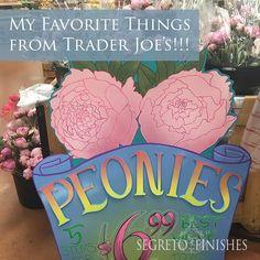 My Favorite Things from Trader Joe's!!! • Segreto Secrets