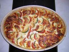 Tarte aux légumes du soleil - Recette de cuisine Marmiton : une recette