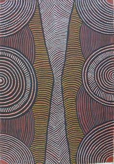 June Bird Petyarre ~ Awelye (Body Paint Design), 2005