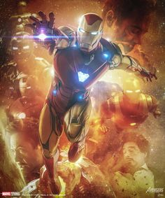 Avengers End Game, Ironman mark 85 art by Marvel Comics, Hq Marvel, Marvel Heroes, Marvel Cinematic, Captain Marvel, Captain America, Iron Man Avengers, Avengers Art, Iron Man Art