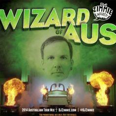 CHECK DEEZ : DJ Zimmie - Wizard of Aus (2014 Australian Tour Mix...DJ Zimmie sends Promo mix for his 2014 Australia Tour w/ Pete Rock & DJ Premier.